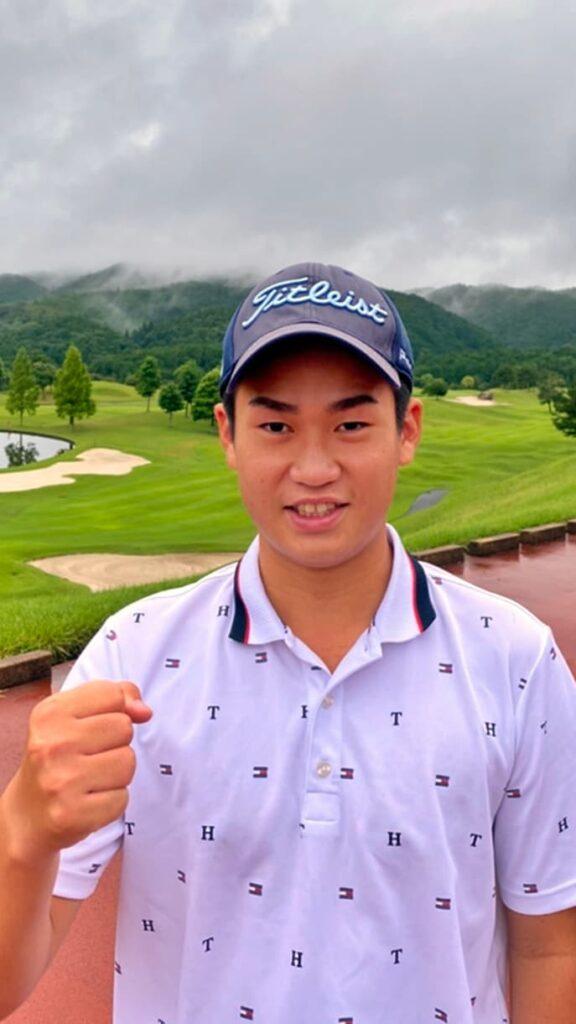 田中裕基, TANAKA Hiroki, プロゴルファー, professional golfer